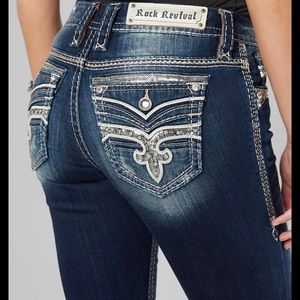 NWT Rock Revival Eilis Boot Jeans